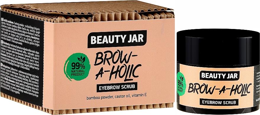 Brow Scrub - Beauty Jar Brow-A-Holic Eyebrow Scrub