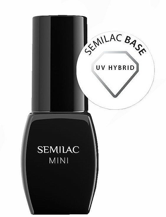 Set - Semilac Hybrid Manicure Set (lamp + n/base/3ml + n/top/3ml + n/polish/3ml + n/cl/50ml + n/aceton/50ml + n/rem/wraps/50pc + n/pads/200pc + n/file/1pc + n/sticks/10pc) — photo N4