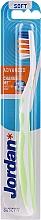 Fragrances, Perfumes, Cosmetics Toothbrush Advanced, soft, white-light green - Jordan Advanced Soft Toothbrush