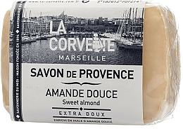 "Fragrances, Perfumes, Cosmetics Provence Soap ""Sweet Almond"" - La Corvette Provence Sweet Almond"