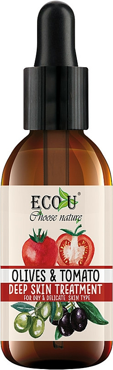 "Intensive Face Serum ""Tomato & Olive"" - Eco U Face Serum"