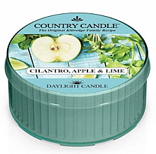 Fragrances, Perfumes, Cosmetics Scented Candle - Kringle Candle Cilantro, Apple & Lime