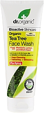 Fragrances, Perfumes, Cosmetics Tea Tree Cleansing Gel - Dr. Organic Tea Tree Face Wash