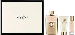 Fragrances, Perfumes, Cosmetics Gucci Guilty Pour Femme - Set (edp/90+ b/l/50 + edp/15)