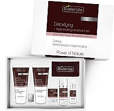 Fragrances, Perfumes, Cosmetics Set - Bielenda Professional Power Of Nature (mask/150ml+scrub/150g+ cr/50ml+serum/30ml)