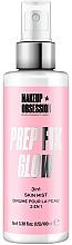 Fragrances, Perfumes, Cosmetics Illuminating Makeup Fixing Spray - Makeup Obsession Prep Fix Glow 3 in 1 Skin Mist