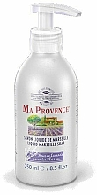 "Fragrances, Perfumes, Cosmetics Liquid Marseille Soap ""Lavender"" - Ma Provence Liquid Marseille Soap lavender"