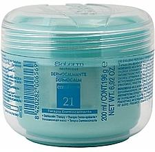 Fragrances, Perfumes, Cosmetics Soothing Emulsion - Salerm Dermocalm Emulsion Dermocalmante