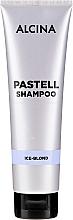 Fragrances, Perfumes, Cosmetics Color Restoring Blonde Hair Shampoo - Alcina Pastell Shampoo Ice-Blond