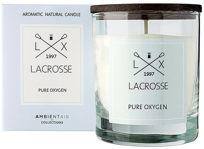 Scented Candle - Ambientair Lacrosse Pure Oxygen Candle — photo N1