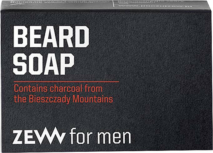 Beard Care Soap Bar - Zew For Men Natural Beard Soap