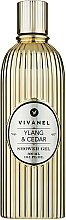 Fragrances, Perfumes, Cosmetics Ylang-Ylang & Cedar Shower Gel - Vivian Gray Vivanel Ylang & Cedar