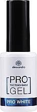 Fragrances, Perfumes, Cosmetics Strengthening Base Coat - Alessandro International Protectig Base Gel Pro White