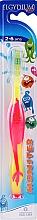 Fragrances, Perfumes, Cosmetics Kids Toothbrush 2-6 yrs, pink - Elgydium Kids Monster Toothbrush