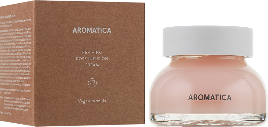 Reviving Rose Face Cream - Aromatica Reviving Rose Infusion Cream — photo N1