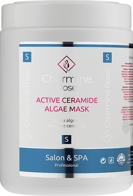 Alginate Face Mask with Ceramides - Charmine Rose Active Ceramide Algae Mask — photo N1