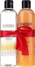 Fragrances, Perfumes, Cosmetics Set - BingoSpa Argan Madness (shm/ser/300ml + sh/cr/300ml)