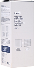 Fragrances, Perfumes, Cosmetics Double-Sides Cotton Pads - Klairs Toner Mate 2In1 Cotton Pad