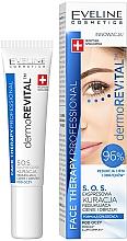 Fragrances, Perfumes, Cosmetics Express Anti Dark Circles & Puffiness Eye Serum - Eveline Cosmetics Face Therapy Professional SOS DermoRevital