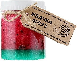 """Fragrances, Perfumes, Cosmetics Body Scrub """"Watermelon Chewing Gum"""" - Dushka"""