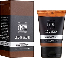 Fragrances, Perfumes, Cosmetics Strong Hold Styling Cream - American Crew Acumen Firm Hold Grooming Cream