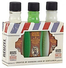 Fragrances, Perfumes, Cosmetics Set - Reuzel Degrease Trio Kit (shm/100ml + shm/100ml + cond/100ml)