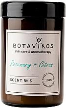 Fragrances, Perfumes, Cosmetics Botavikos Rosemary&Citrus - Scented Candle