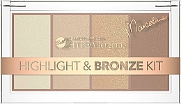 Fragrances, Perfumes, Cosmetics Highlighter & Bronzer Palette - Bell HYPOAllergenic Highlight & Bronze Kit by Marcelina