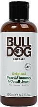 Fragrances, Perfumes, Cosmetics Beard Shampoo-Conditioner - Bulldog Skincare Beard Shampoo and Conditioner