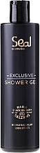 Fragrances, Perfumes, Cosmetics Moisturizing Shower Gel - Seal Cosmetics Exclusive Shower Gel With Riga Black Balsam Herbal Extracts