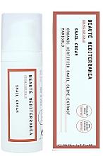 Fragrances, Perfumes, Cosmetics Snail Mucus Rejuvenating Face Cream - Beaute Mediterranea Snail Cream