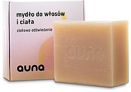 Fragrances, Perfumes, Cosmetics Hair & BodySoap - Auna Hair And Body Soap