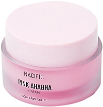 Fragrances, Perfumes, Cosmetics ANA & BHA Watermelon Face Cream - Nacific Pink AHA BHA Cream