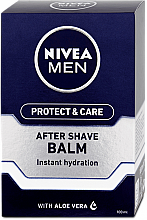 Fragrances, Perfumes, Cosmetics Moisturizing After Shave Balm - Nivea Men Prtotect & Care Moisturizing After Shave Balm