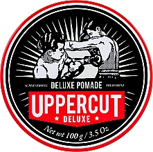 Fragrances, Perfumes, Cosmetics Strong Hold Hair Styling Pomade - Uppercut Deluxe Pomade Barber Tin