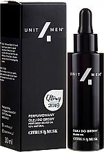 Fragrances, Perfumes, Cosmetics Perfumed Beard Oil - Unit4Men Citrus&Musk Perfumed Beard Oil