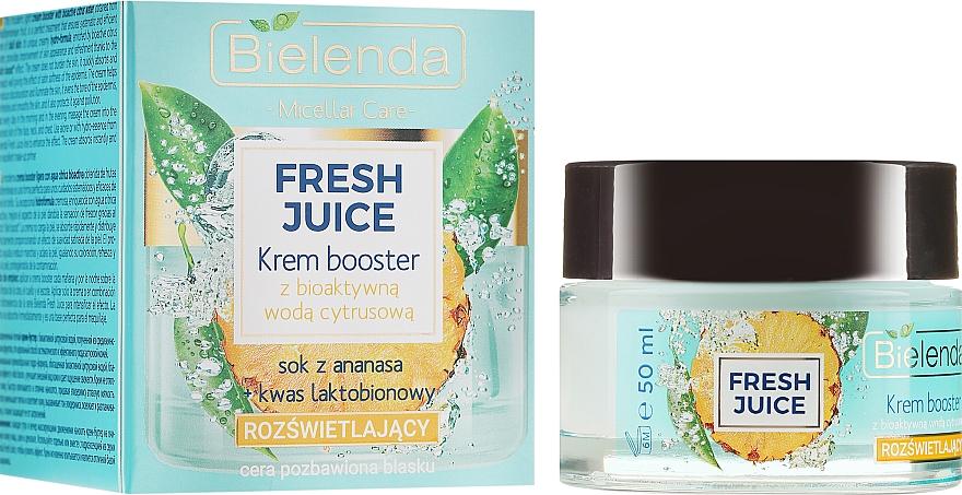 Refreshing Cream-Booster with Bioactive Citrus Water - Bielenda Fresh Juice Booster