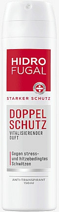 "Antiperspirant Spray ""Double Protection"" - Hidrofugal Double Protection Spray"