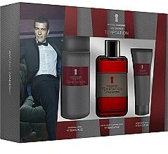 Fragrances, Perfumes, Cosmetics Antonio Banderas The Secret Temptation - Set (edt/100ml + deo/150ml + ash/balm/75ml)