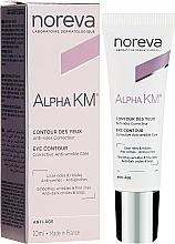 Fragrances, Perfumes, Cosmetics Anti-Aging Eye Cream - Noreva Laboratoires Alpha KM Eye Contour