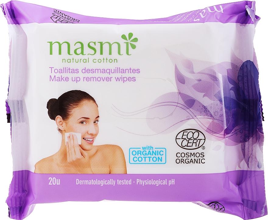 Makeup Remover Wipes - Masmi Natural Cotton