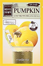 "Fragrances, Perfumes, Cosmetics Face Mask ""Pumpkin"" - Mediental Botanic Garden Mask"