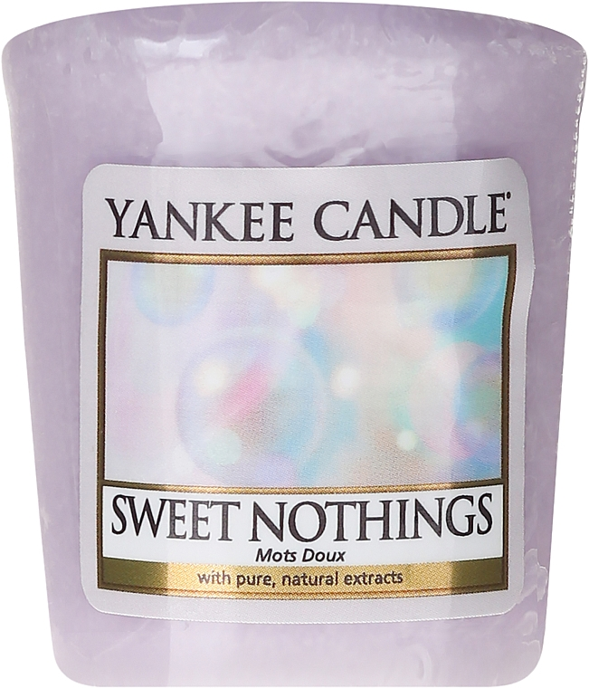 Scented Candle - Yankee Candle Sweet Nothings