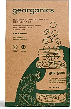 Fragrances, Perfumes, Cosmetics Mouthwash Spearmint Tablets - Georganics Mouthwash Tablets Spearmint Refill Pack (refill)