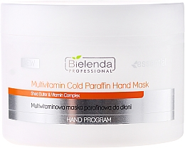 Fragrances, Perfumes, Cosmetics Multivitamin Hand Mask - Bielenda Professional Multivitamin Cold Paraffin Hand Mask