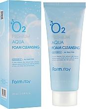 Fragrances, Perfumes, Cosmetics Oxygen Cleansing Foam - FarmStay O2 Premium Aqua Foam Cleansing