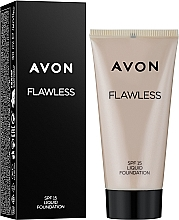 Fragrances, Perfumes, Cosmetics Flawless Tone Foundation - Avon Flawless Liquid Foundation SPF15