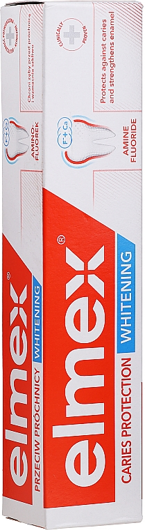 Toothpaste - Elmex Caries Protection Whitening Toothpaste