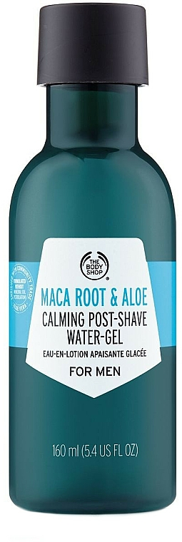 After Shave Maca Root & Aloe Gel - The Body Shop Maca Root & Aloe Post-Shave Water-Gel For Men
