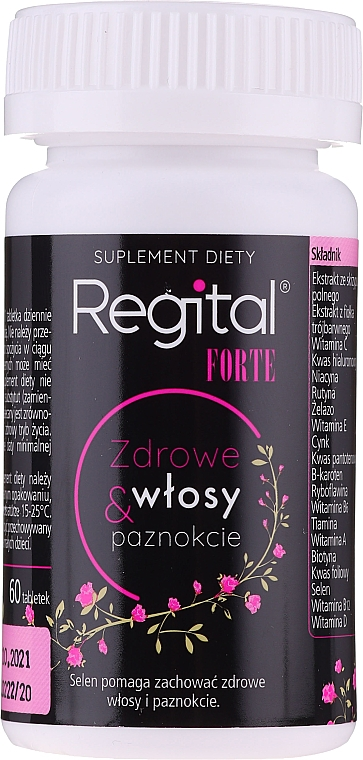 """Food Supplement """"Healthy Nails and Hair"""" - Regital Forte"""